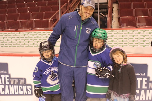 Skate with the Canucks